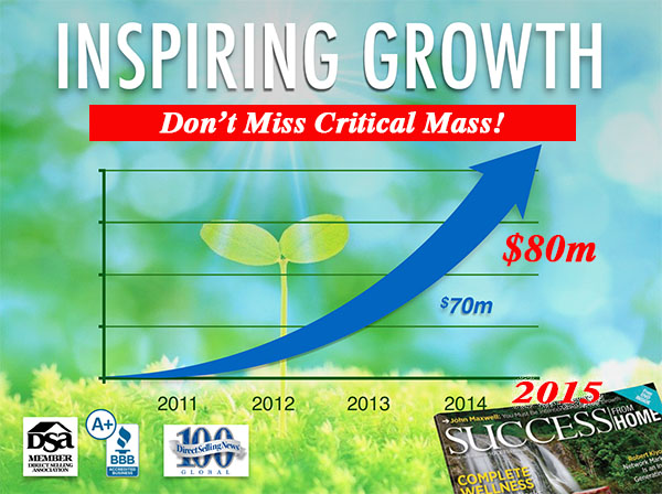 Explosive Growth with The Zurvita Home Business Opportunity.