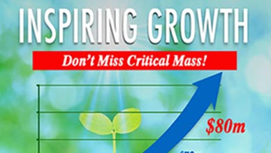 Critical Mass for the Zurvita Business Opportunity!