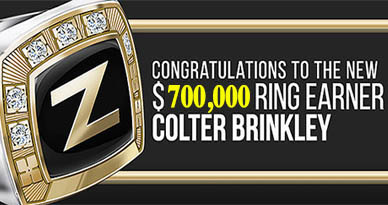Colter Brinkley founder of the Success Stories Group earns the Zurvita $700k a year ring!